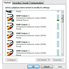 WheatNet IP Audio Driver Blade-3